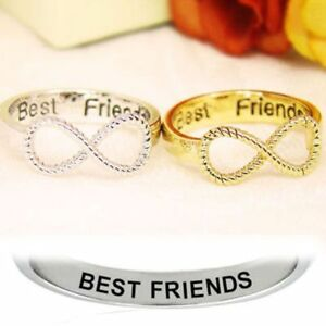 Best-Friends-Women-Ring-Infinity-Jewelry-Gold-Silver-Couple-Ring-Wedding