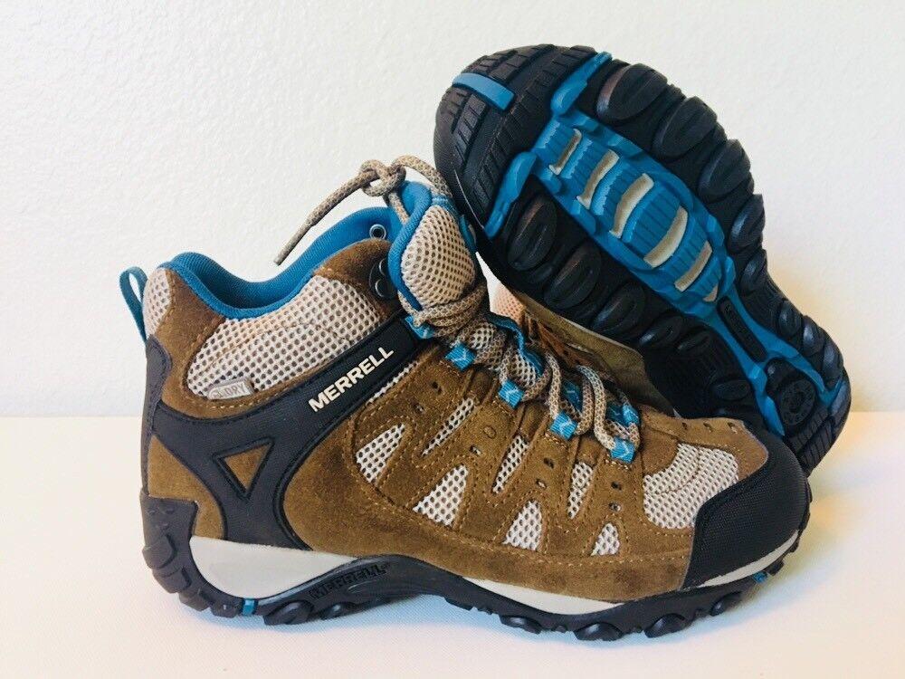 MERRELL Accentor botas para excursionismo a prueba de agua tamaño mediano W9 m7.5 zapatosnib