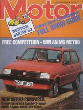 Motor magazine 23/10/1982 featuring Ford Sierra, Vauxhall, Talbot Alpine, Datsun
