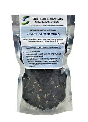 Black Goji Berries Natural Herb Tea Antioxidant Air Dried Whole