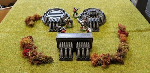 28mm Power Generators Warhammer 40k table top scenery painted