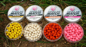 CARP FISHING BOILIES 8x10mm BARREL WAFTERS DUMBELL BAIT VARIOUS GREAT FLAVOURS