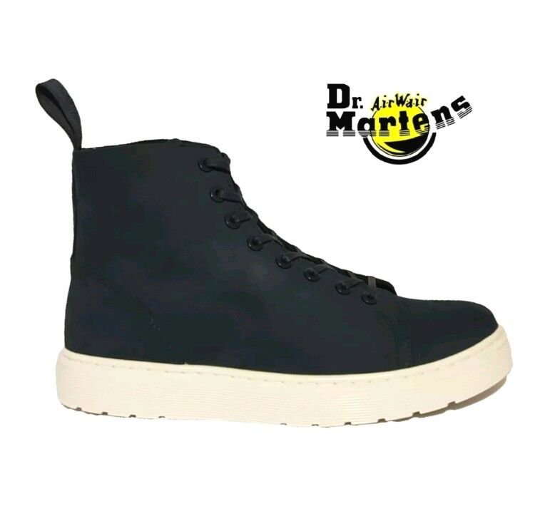 New Dr Martens Talib Indigo bluee Leather High Tops Chukka Boots shoes Ladies