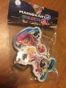 Details About Mario Kart 8 Deluxe Nintendo Switch Promotional Promo Keychain Peach Target New