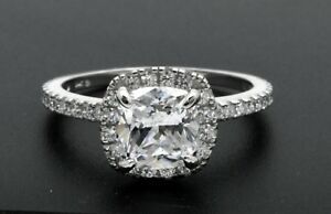 14k-Solid-White-Gold-2-00ct-Created-Cushion-Diamond-Engagement-Ring-1