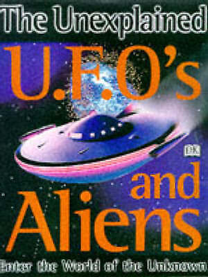 """""""AS NEW"""" Wilson, Colin, UFO'S AND ALIENS (UNEXPLAINED), Book"""