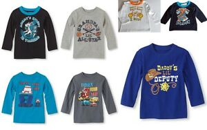 Children-039-s-Place-Infant-Toddler-Boys-Assorted-Graphic-Tees-Cotton-T-Shirt-6-24M