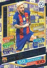 MATCH ATTAX CHAMPIONS LEAGUE 2016 2017 LIONEL MESSI 100 CLUB - 100C 11 BARCELONA