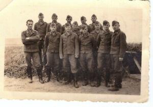 Foto-2-WK-deutsche-Soldaten-Luftwaffe-Frankreich-ca-1940-Wehrmacht-WW2-C8
