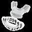 縮圖 7 - Interchange Lip Guard Mouthpiece + Printed Shield