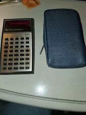 Vintage Texas Instruments Ti 30 Calculator With Case Red Led Display 1977 Works