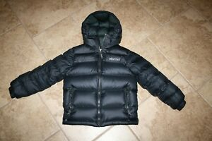 a79dfef370ee Image is loading MARMOT-BOY-039-S-GUIDES-DOWN-HOODY-Puffer-