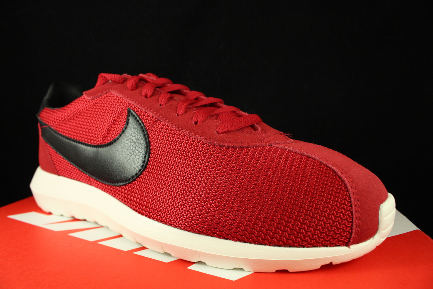 NIKE ROSHE LD 1000 GYM RED BLACK SAIL 844266 601 SZ 10.5