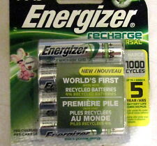 Energizer AA Rechargeable Recharge universal Batteries 8-Pack 2000 mAh
