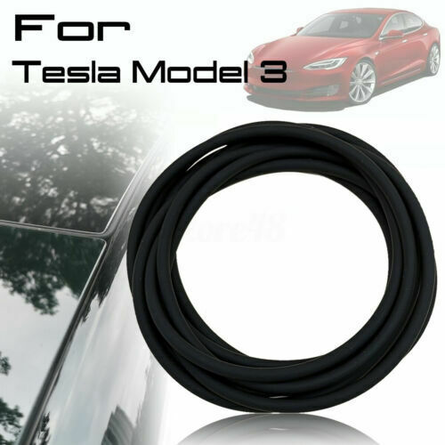 For Tesla Model 3 Windschutzscheibe Dach Gummidichtung Gummi Dichtungsband Neu