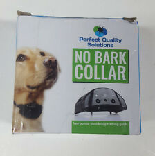Advance No Bark Collar By Perfect Quality Solution-No Harm Shock Dog Control pet