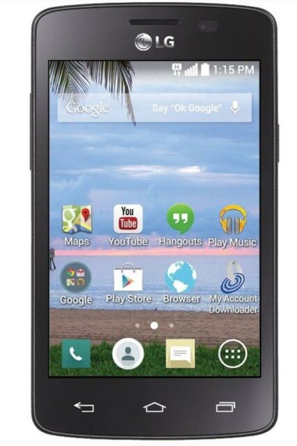 Net10 LG L15G Sunrise 3g Android Prepaid Smartphone No Contract Phone