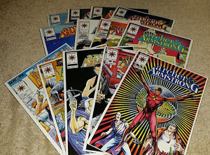 13-Archer-amp-Armstrong-Valiant-Comics-Comic-Book-Lot-Bagged-Boarded-1992-1994