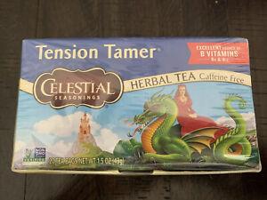 Celestial Seasonings Tension Tamer Natural Herbal Tea 20 count