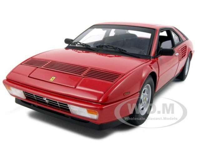 Elite Ferrari Mondial 3.2 Rojo 1 18 Diecast Model Coche De Hotwheels p9889
