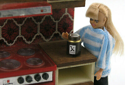 Old-fashioned coffee jar Lundby miniatures scale NEW doll not included