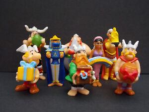Lot-serie-complete-Kinder-8-Asterix-DE-France-2009-1-BPZ