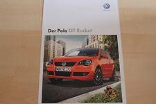 73828) VW Polo 9N GT Rocket Prospekt 10/2008