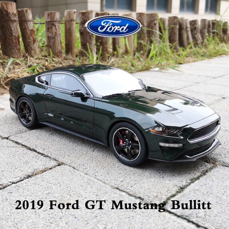GTspirit 1 18 Static Diecast Model 2019 Ford GT Mustang Bullitt American Car