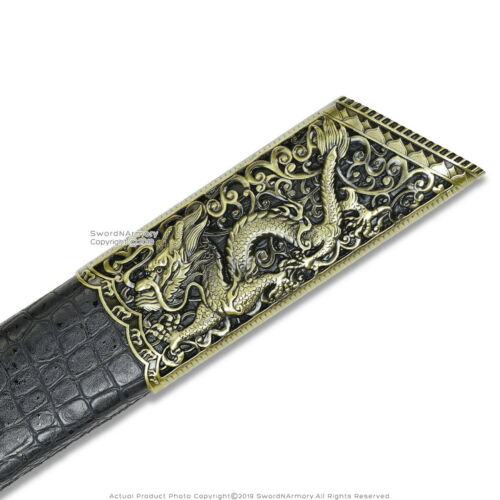 Emperor Kangxi Sword Saber Chinese Dao Broadsword Qing Dynasty Ancient Weapon