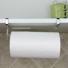 Wall Mounted Under Shelf Cabinet Kitchen Roll Holder Paper Towel ...