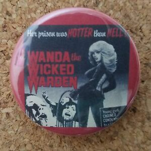 Image Is Loading Wanda The Wicked Warden Movie Poster Button 1