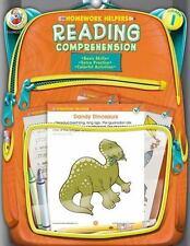 Homework Helper: Reading Comprehension, Grade 1 by Carson-Dellosa Publishing Staff and McGraw-Hill Staff (2001, Paperback, Activity Book)