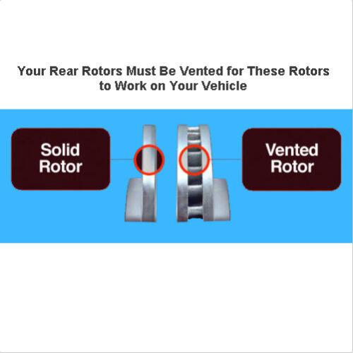 DRILLED Brake Rotors Ceramic Pads Ford Explorer XLT Limited Sport Platinum REAR