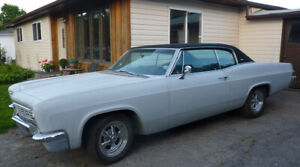 1966 Chevy Caprice...2 Door...Restored...327 Vette Engine...