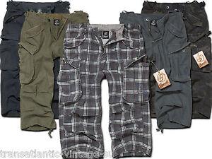 Brandit Industry Men's Shorts 3/4 Shorts Bermuda Cargo Shorts ...