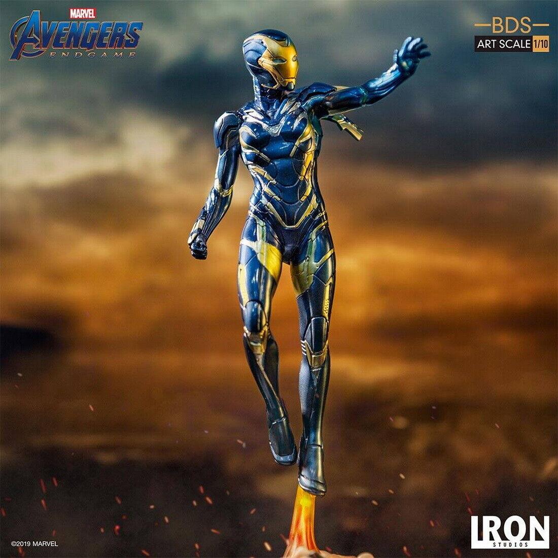 Iron Studios 1 10 Pepper Potts en traje de rescate Estatua Vengadores  Tacho Collection