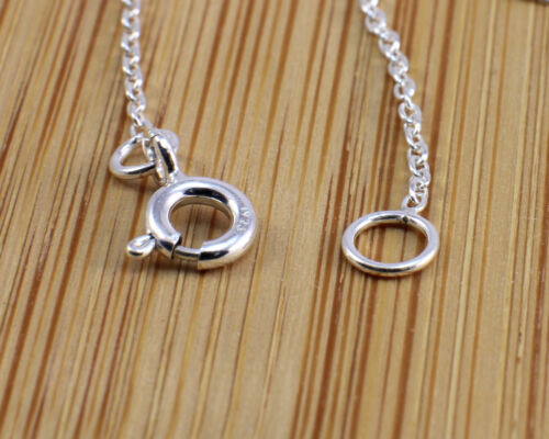 Sterling Silver Thin Cable Chain-Necklace 42 cm