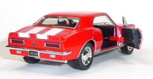 modelo 1:37 coleccionista roja 1967 Camaro Z-28 bienes KINSMART nuevos de 12 Nuevo 8 cm