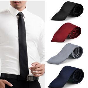 Fashion-Classic-Solid-Tie-JACQUARD-WOVEN-Men-039-s-Silk-Suits-Ties-Necktie
