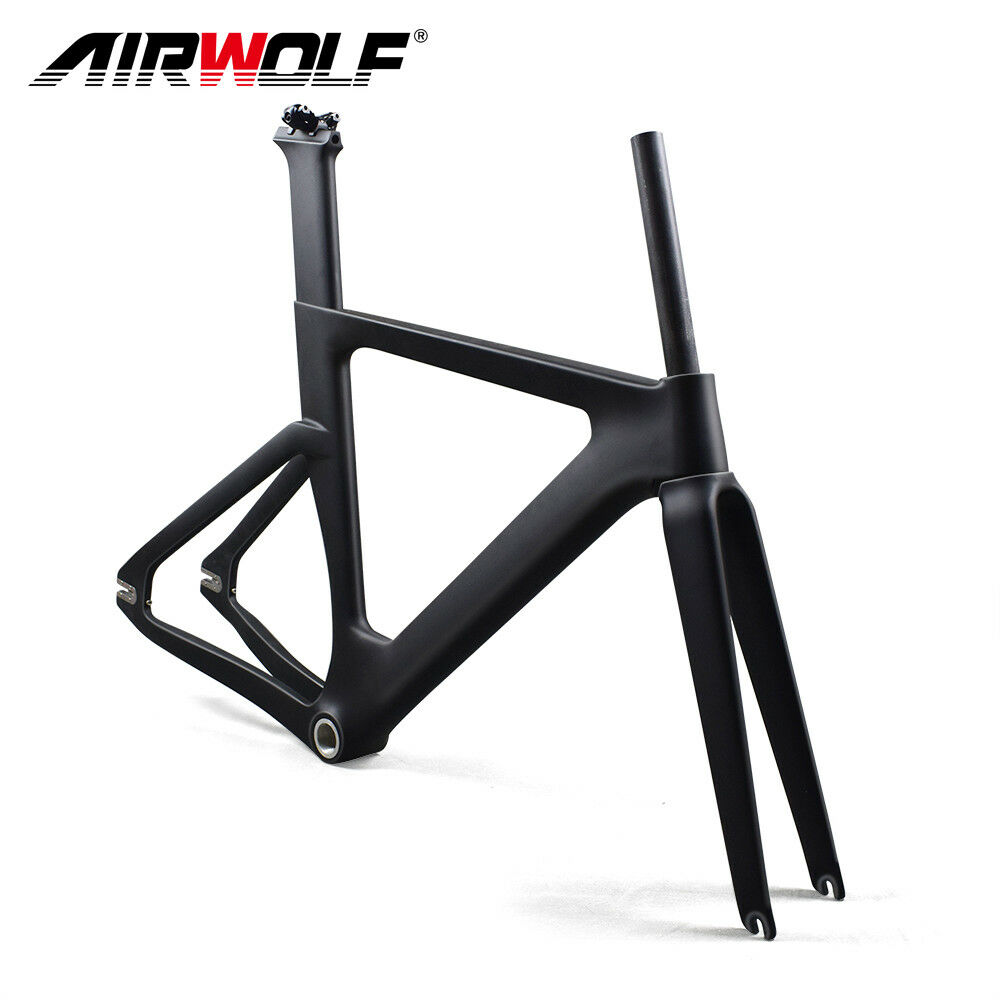 2019 Cyclisme carbone piste cadre vélo 49 cm mat vélo de course Cadre Set BSA