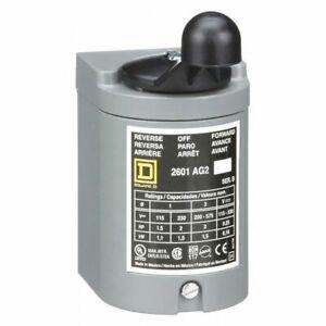 SQUARE-D-2601AG2-Switch-Drum-Reversing-Plastic-Handle