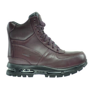 abc1fc5bb60 Details about Nike Air Max Goadome 6 Inch Waterproof Men's Boots  Burgundy/Black 806902-660