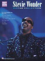 Stevie Wonder Guitar Collection Sheet Music Easy Guitar 000702111
