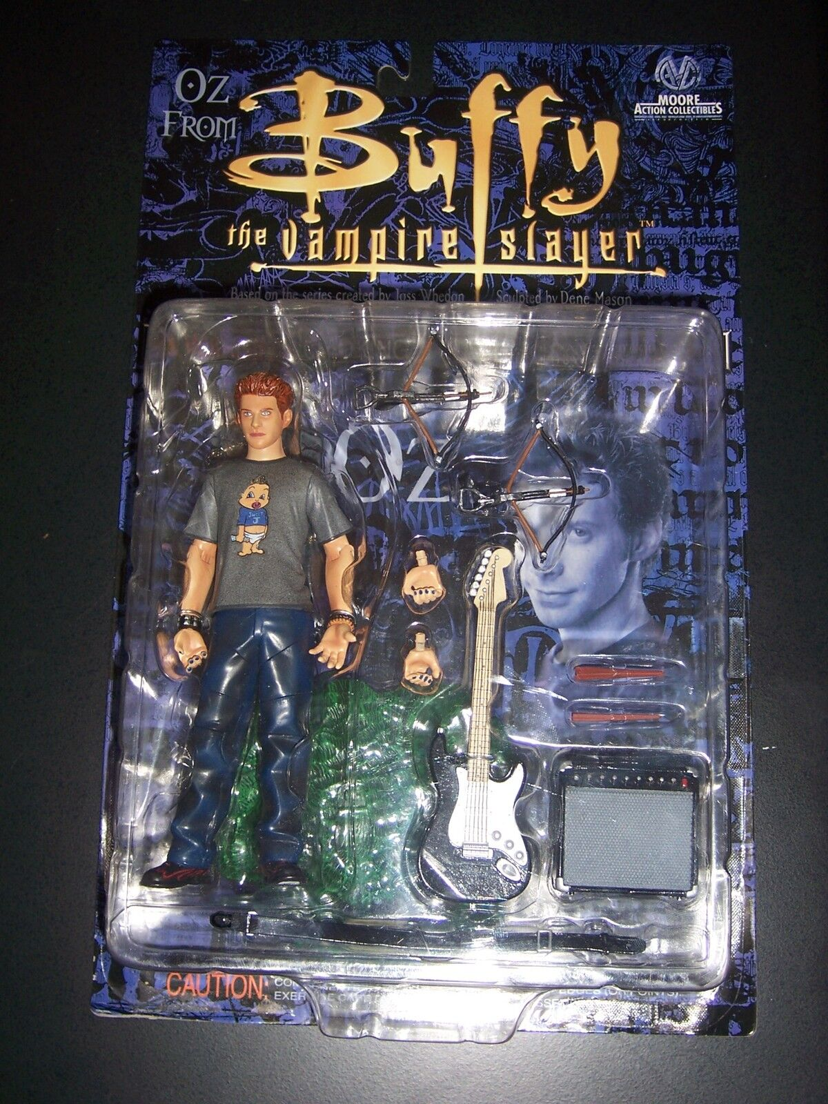 Buffy The Vampire Slayer Seth verde Oz azione cifra BNOC