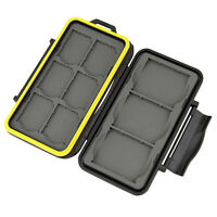 Jjc Mc-sd6cf3 Memory Card Hard Case For 6 Sd + 3 Cf Cards Secure With Lock_us
