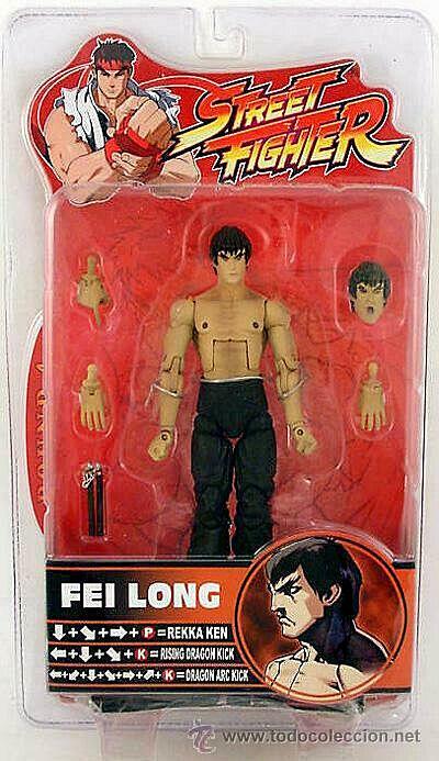 Street Fighter FEI LONG figura PVC 16cm Sota