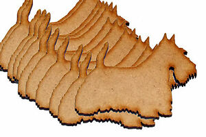 Pack-of-10-Scotty-Dogs-Blanks-MDF-Plaques-Choose-Size-ALSO-Avalible-in-Acrylic