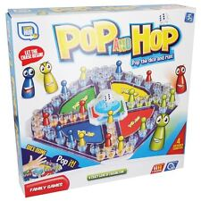 Grafix Childrens Kids Family Pop And Hop Classic Board Game Toys