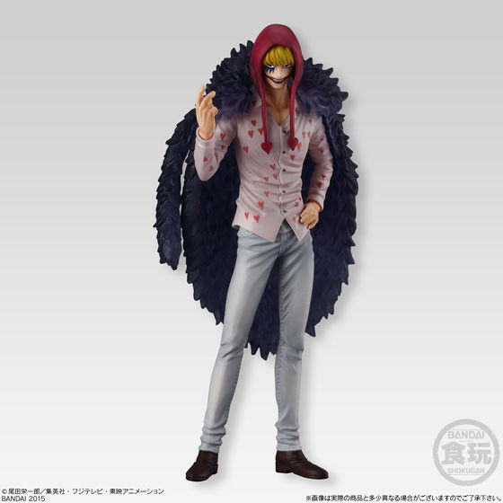 SUPER ONE PIECE PIECE PIECE STYLING CORRIDA COLOSS FIGURE LUFFY RUBBER TRAFALGAR LAW ANIME 2 cb3983