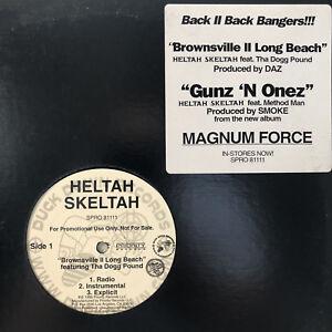 "HELTAH SKELTAH - BROWNSVILLE II LONG BEACH (12"") 1998!!  RARE!!  THA DOGG POUND"
